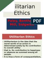 Values Utilitarian Ethics
