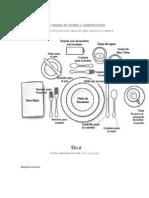 El Protocolo de Las Mesas en Bodas y Celebraciones
