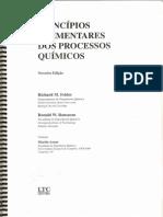 Princípios Elementares Dos Processos Químicos - Richard M. Felder; Ronald W. Rousseau( Capítulo 1 e 2)