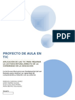 Proyecto de Aula Con Tic