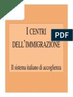 Centri Accoglienza - geografia umana