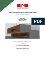 Structure mixte bois - béton