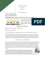 Report in Chem