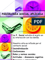 Psicologia Social Aplicada
