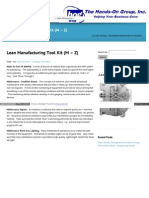 Www Handsongroup Com Lean Manufacturing Tool Kit Part 2