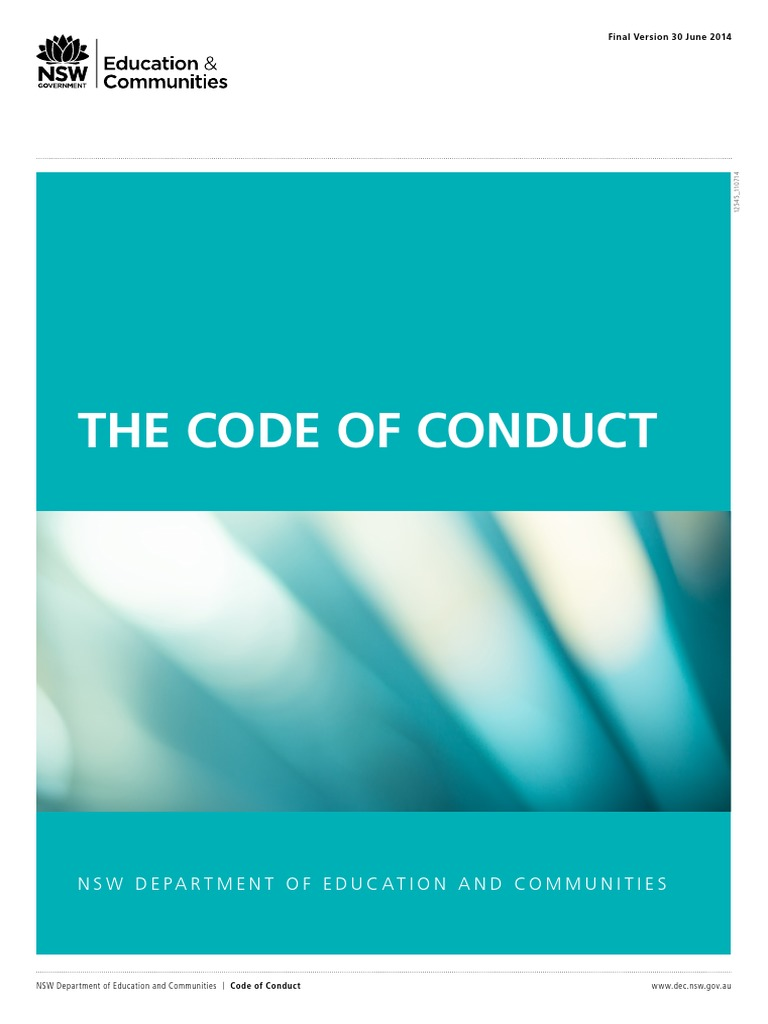 Nsw det code of conduct pdf995