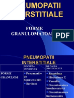 Pneumopatii interstitiale granulomat