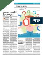 El Autoengaño de Google