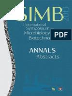 Abstracts SIMB2013