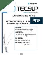 Lab 02 Procesos Industriales