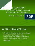 Hukum Dan Stratifikasi Dalam Kenyataan Sosial