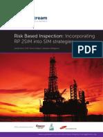 Incorporating API Code RP2SIM(Risk Based Inspection)