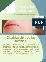 Cicatrización de las heridas
