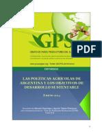 Las Politicas Agricolas Argentina Objetivos de Desarrollo Sustentable