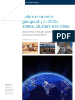 Indias Economic Geography in 2025 States Clusters and Cities