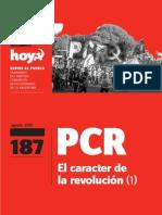 PCR - El carácter de la revolución