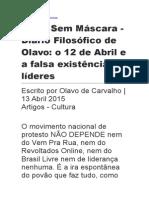 Diário Filosófico 12 Abril