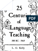 25 Centuries of Language Teaching