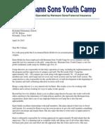 reference letter from jennifer cernosek