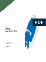 SP Network Printer Guide B Sep 2004