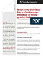 Power Management Methods - Spry233