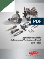 Catalogo Diesel Delphi 2015-2016