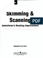 Skimming and Scanning-Advanced