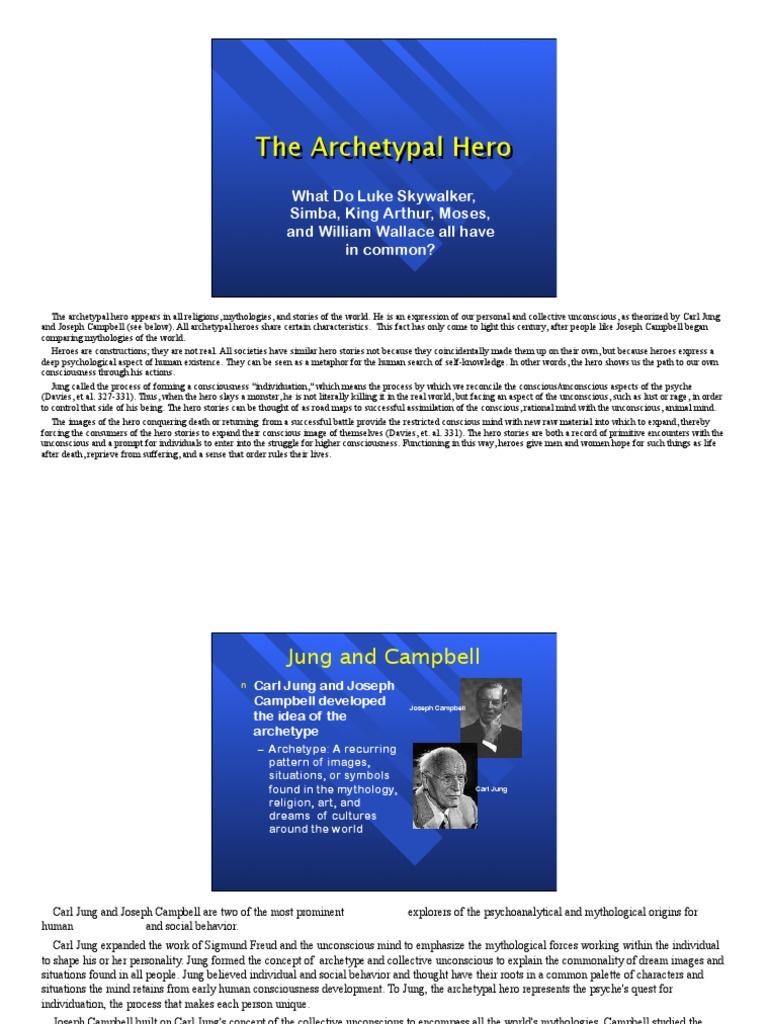 archetypes in king arthur