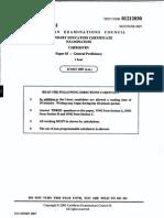2007 Csec Chem Paper 03