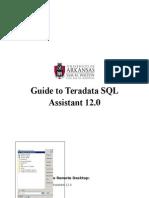Guide for Teradata SQL Assistant