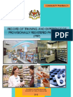 Malaysia PRP Community Pharmacy Logbook