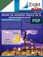 Zoom Departamento de Tarija 2015