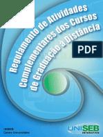 RegulamentoAtividadesComplementaresCursosGraduaçãoDistância2013