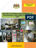 Malaysia PRP Private Hospital Logbook