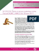 CFE-CGC Recours Agirc