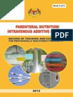 PRP Parenteral Nutrition Logbook