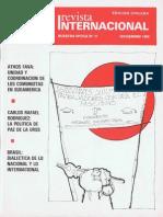 Revista Internacional-Nuestra Época, Edición Chilena, Noviembre de 1984