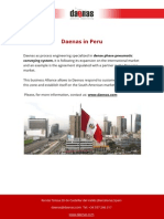 Daenas Dense Phase Pneumatic Conveying System in Peru