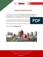 Daenas Transporte Neumatico Fase Densa en Peru