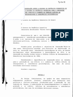 Tratado Bilateral entre Brasil e Argentina