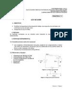 Fe-práctica 2. Ley de Ohm