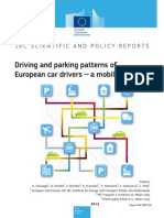 Driving and Parking Patterns of European Car Drivers - A Mobility Survey
