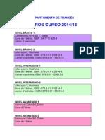 Libros de texto francés 2014-15..pdf