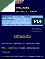 5 Antropometria Técnicas 11 Abr12