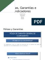 Pólizas,Garantías e Indicadores