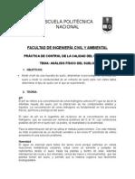 Propiedade Fisicas del suelo (practica de Laboratorio)
