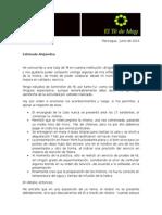 Cata de Te - Escuela de Los Sentidos Junio 2014