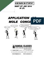 Application of Mole Concept