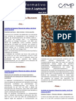 Newsletter Intercalar da CAMMP de Abril de 2015