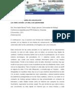 Conferencia en Granada - Redes Sociales